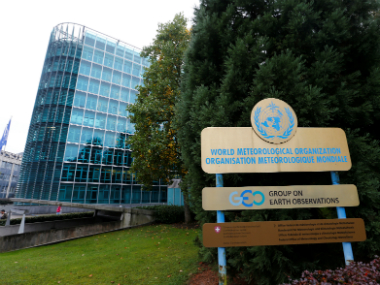 Overview of the United Nations agency the World Meteorological Organization (WMO) in Geneva, Switzerland. Reuters