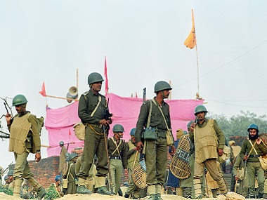 The makeshift Ramlala idol in Ayodhya is under heavy security today. Reuters
