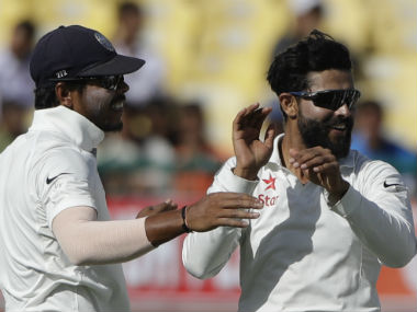 Ravindra Jadeja put up a fine rearguard of 63, before recording figures of 3/24 on Day 3 of the fourth Test. AP