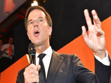 Dutch Prime Minister Mark Rutte. AP