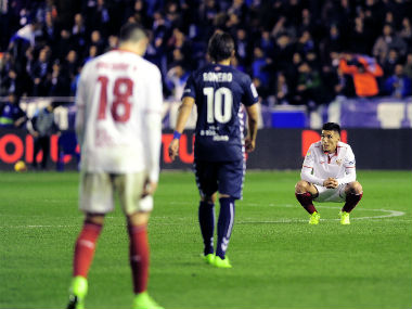 Sevilla are placed third in the La Liga table. AP