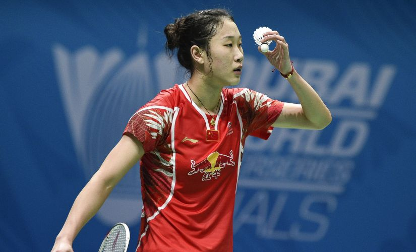 China's Sun Yu. AFP