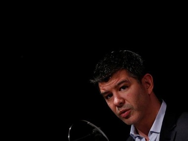 Travis Kalanick, CEO, Uber. Reuters