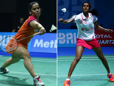 Saina Nehwal and PV Sindhu could potentially meet in the quarter-finals of the India Open. Getty
