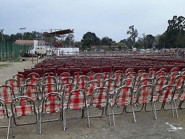 The ceremony will take place at Dehradun's Parade Ground on Saturday. Firstpost/Namita Singh