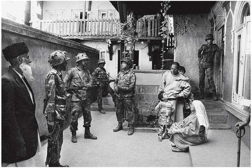 Meraj Ud Din / Crackdown by Soldiers / Srinagar 1993