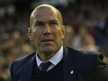 File photo of Zinedine Zidane. Getty Images