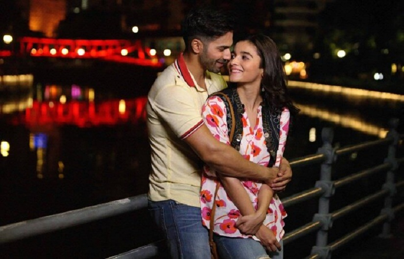Varun Dhawan and Alia Bhatt from Badrinath Ki Dulhania trailer. Youtube screen grab.