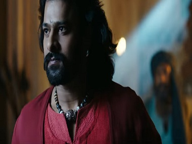 Prabhas in a still from Baahubali 2: The Conclusion. YouTube