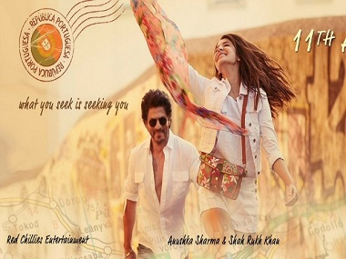 Shah Rukh Khan and Anushka Sharma in the first look of Imtiaz Ali's next. Twitter