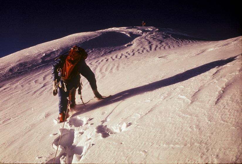 1975: Everest, final summit slope