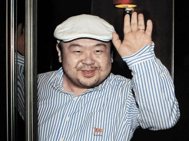 File photo of Kim Jong-Nam. AP