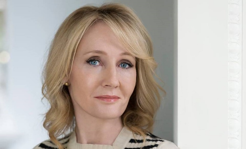 J K Rowling. Image from Facebook