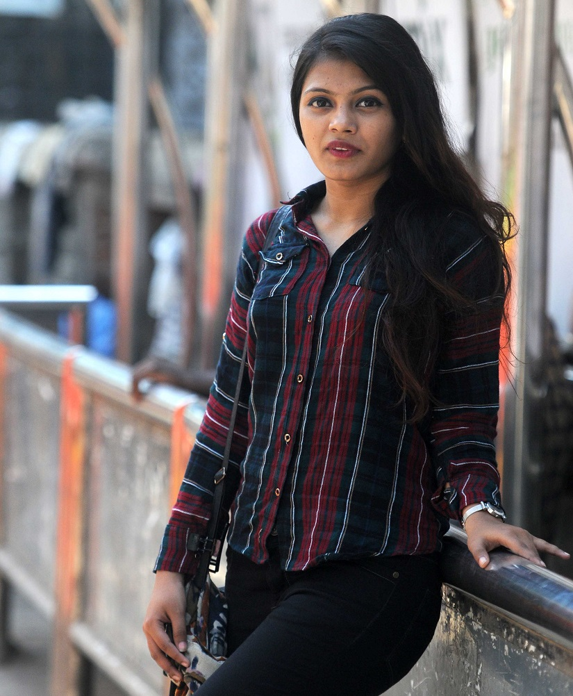 All grown up: Rubina is now 18. Photo by Sachin Gokhale/Firstpost
