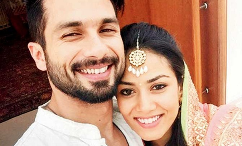 Shahid Kapoor and Mira Rajput. Image from News18