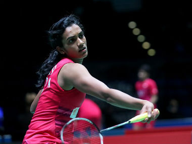 Sindhu fell to a heavy defeat at the hands of Tai Tzu Ying. Image courtesy: Twitter /@YonexAllEngland