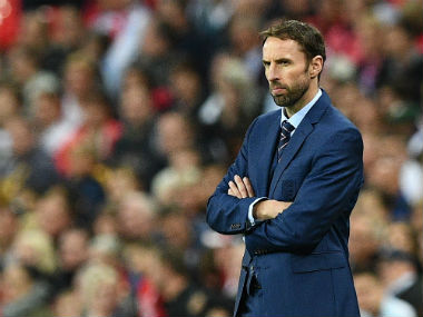 File photo of England coach Gareth Southgate. AFP