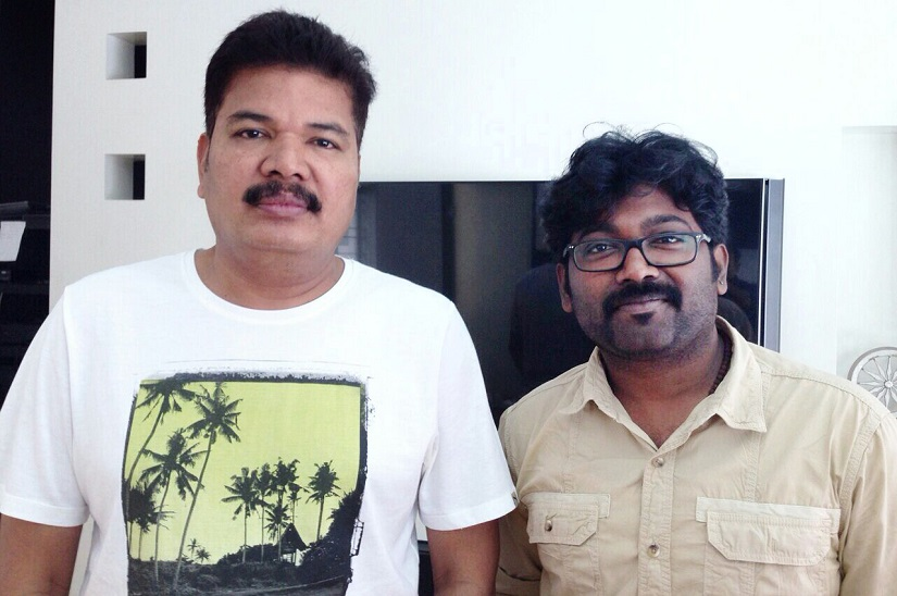 With director Shankar