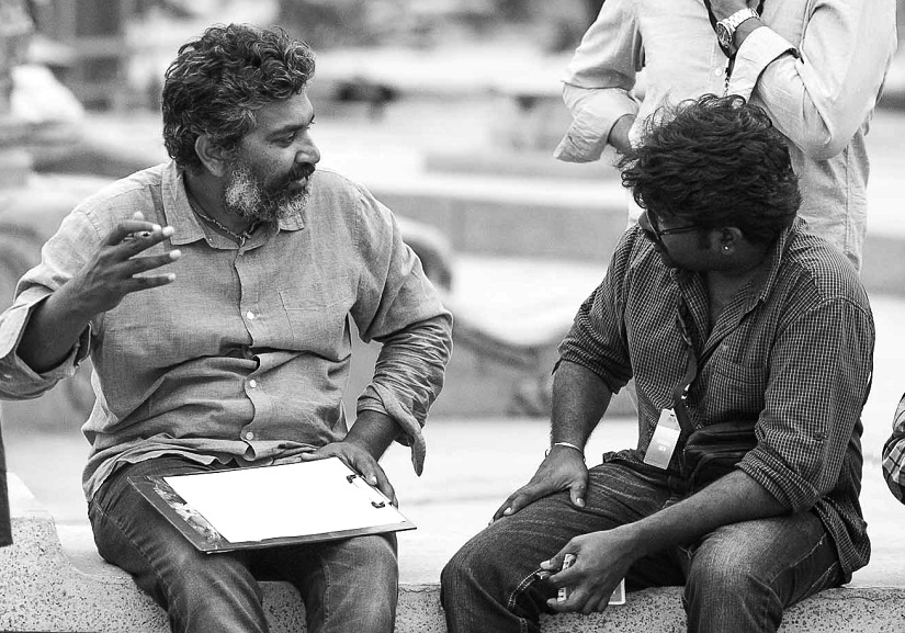 With director SS Rajamouli