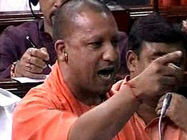 Uttar Pradesh Chief Minister Yogi Adityanath. PTI file photo.