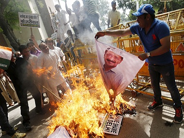 Voter disenchantment with Aam Aadmi Party ran high. Reuters file image