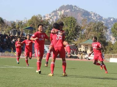 Aizawl FC are just one point away from winning the I-League. Twitter/ @AizawlFC