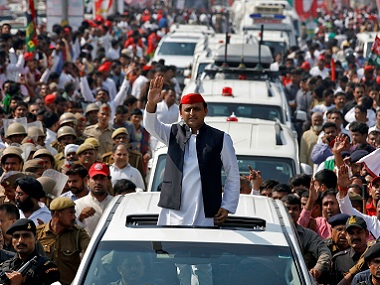 File image of Akhilesh Yadav