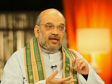 Amit Shah. Image courtesy: CNN-News18
