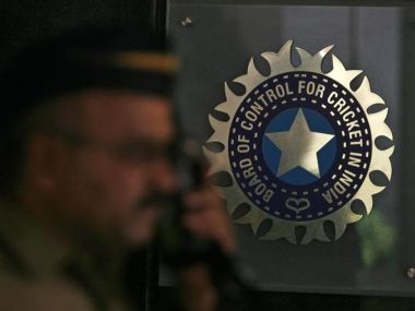 Logo of the Board of Control for Cricket in India (BCCI). Reuters