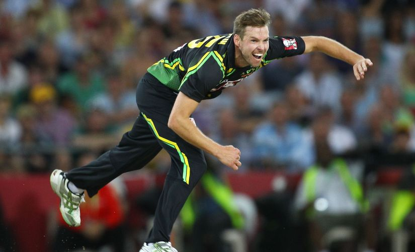 Ben Laughlin last appeared in an Australian shirt in 2013 in a T20I against Sri Lanka. GettyImages