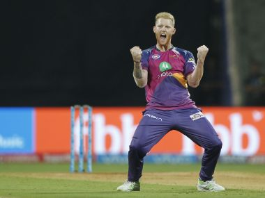 Ben Stokes put in a brilliant bowling performance to help RPS triumph over MI at Wankhede stadium. IPL/SportzPics