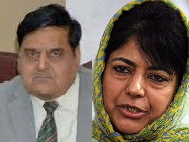Bharat Bhushan Vyas will serve as Chief Secretary to the Mehbooba Mufti government in Jammu and Kashmir