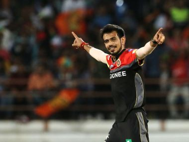 Yuzvendra Chahal of the Royal Challengers Bangalore. Sportzpics