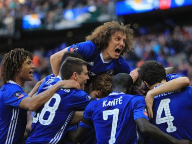 Chelsea's winning mentality outshone Tottenham's poession football at Wembely. GettyImages