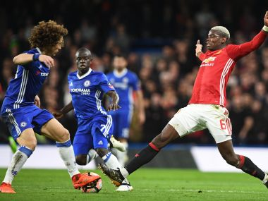 Chelsea travel to Old Trafford to take on Manchester United in the Premier League. AFP