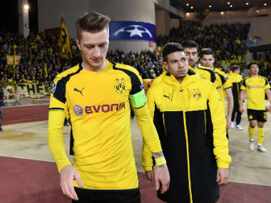Borussia Dortmund were outplayed by Monaco in both the legs. AFP