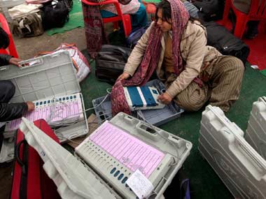 Opposition parties have alleged that the BJP has been tampering with EVMs to win elections. PTI