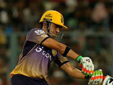 File photo of KKR captain Gautam Gambhir. Sportzpics