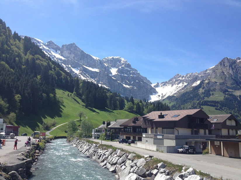 Engelberg, at the foot of Mt Titlis