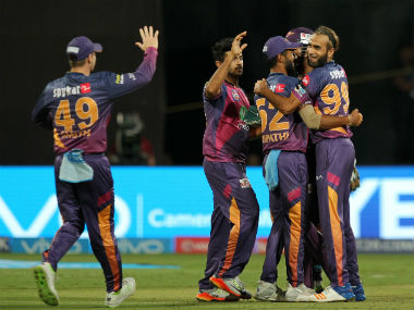 The Rising Pune Supergiant team. Sportzpics