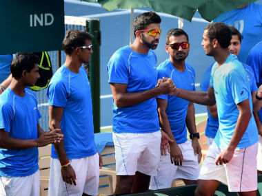 India beat Uzbekistan 4-1 to seal place in Davis Cup. PTI