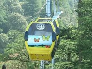 Jakhu Temple is now linked via ropeway. CNN-News18