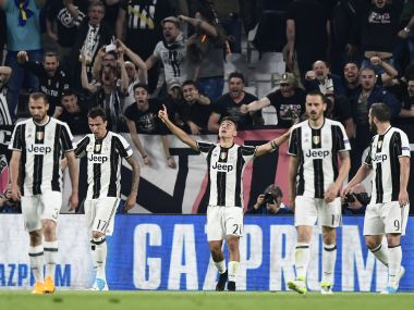 Juventus will take a healthy 3-goal lead to the Nou Camp for the second leg. AFP