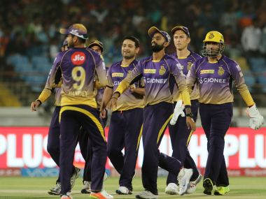 Kolkata Knight Riders players. Sportzpics