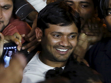 File photo of Kanhaiya Kumar. Reuters