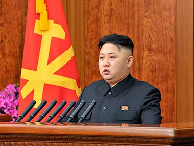 File image of North Korean leader Kim Jong-Un. Reuters