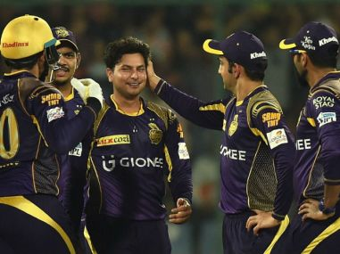 File photo of Kolkata Knight Riders. AFP