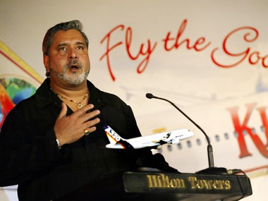 A file photo of liquor baron and owner of Kingfisher Airlines Vijay Mallya. Reuters