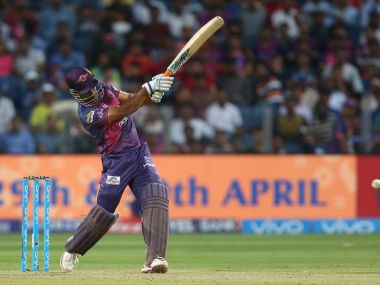 MS Dhoni silenced his doubters with a match-winning knock for RPS. IPL/SportzPics