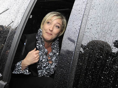 File image of Marine Le Pen. Reuters
